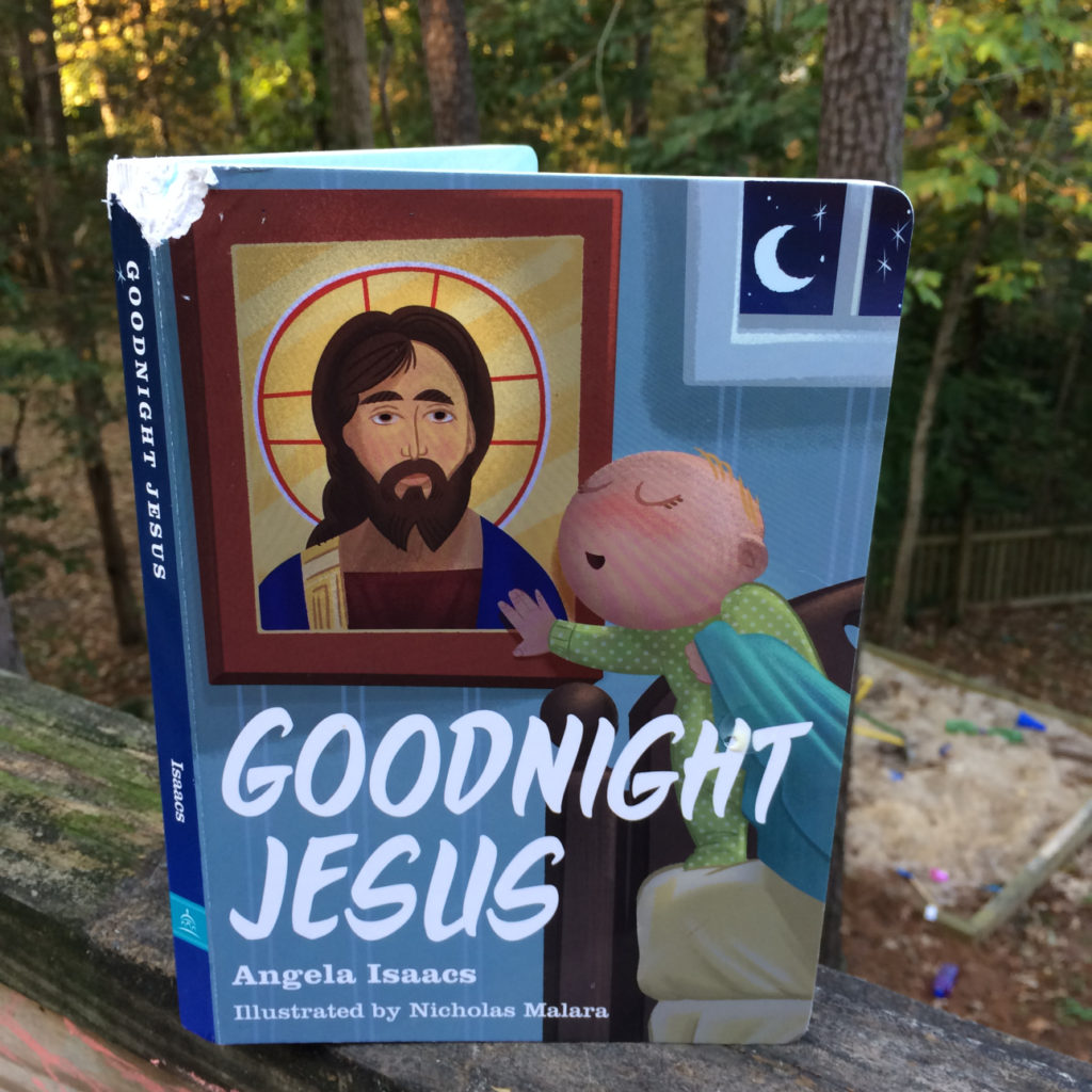 Goodnight Jesus with a chewed cover