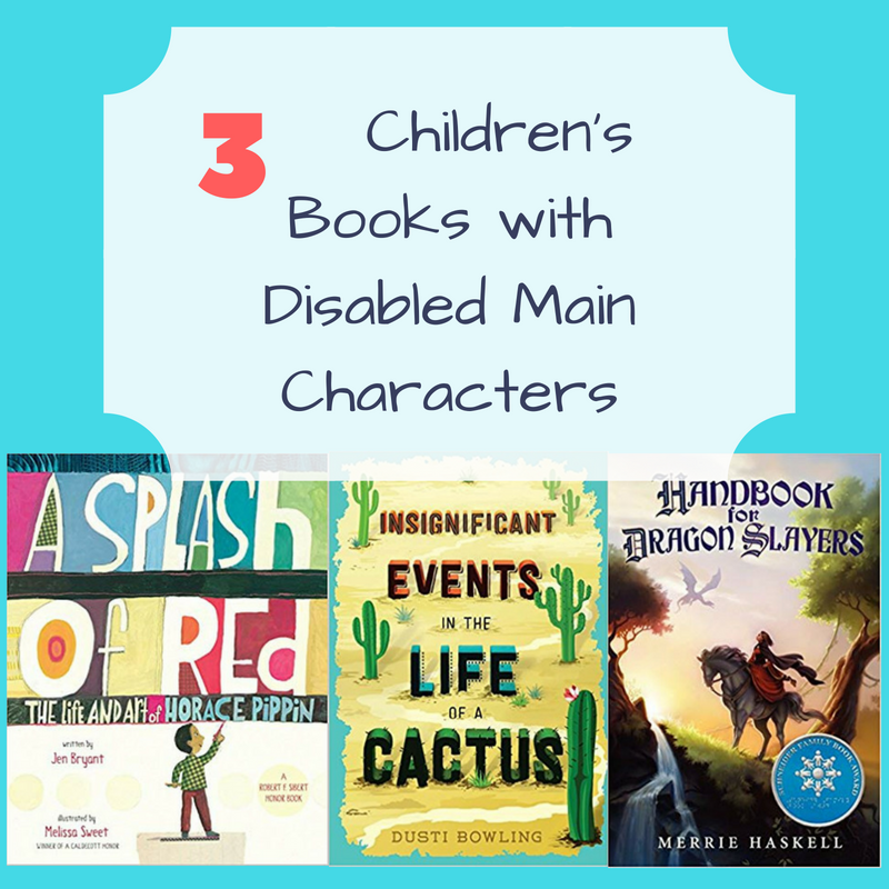 3 Children's Books with Disabled Main Characters with Guest blogger Charlotte Riggle