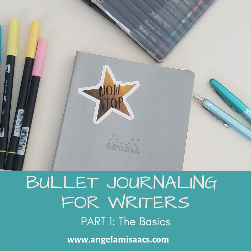 Bullet Journaling for Writers: Part 1 The Basics