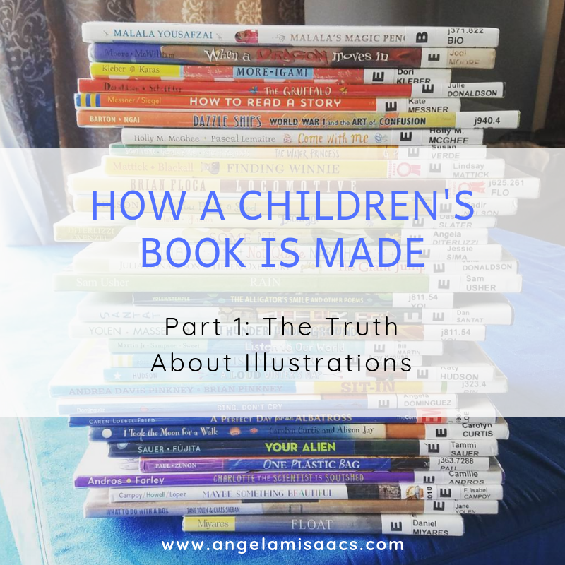 How Children's books are Made: Part 1. The Truth About Illustrations
